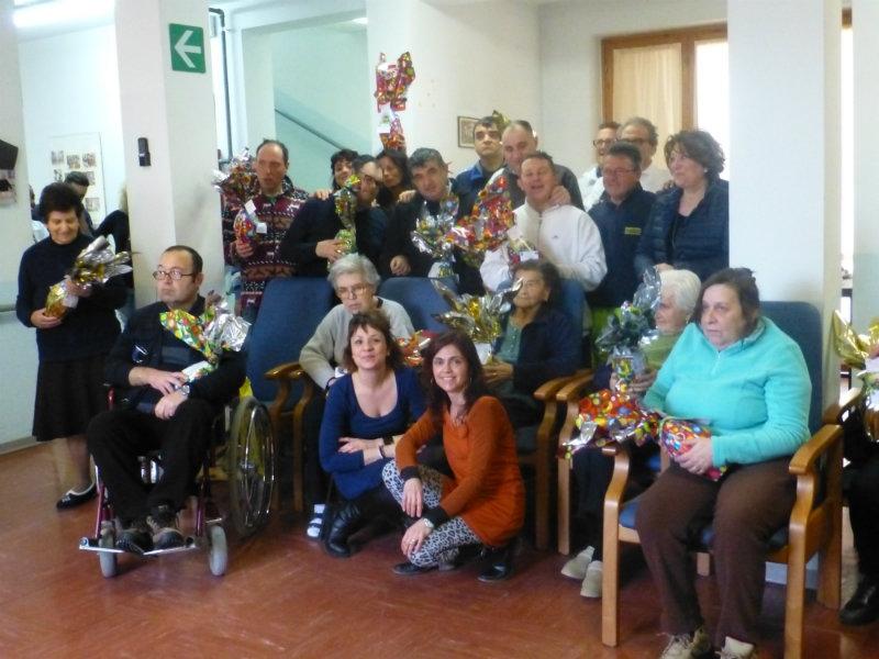 Festa di Pasqua alla Casa di Riposo