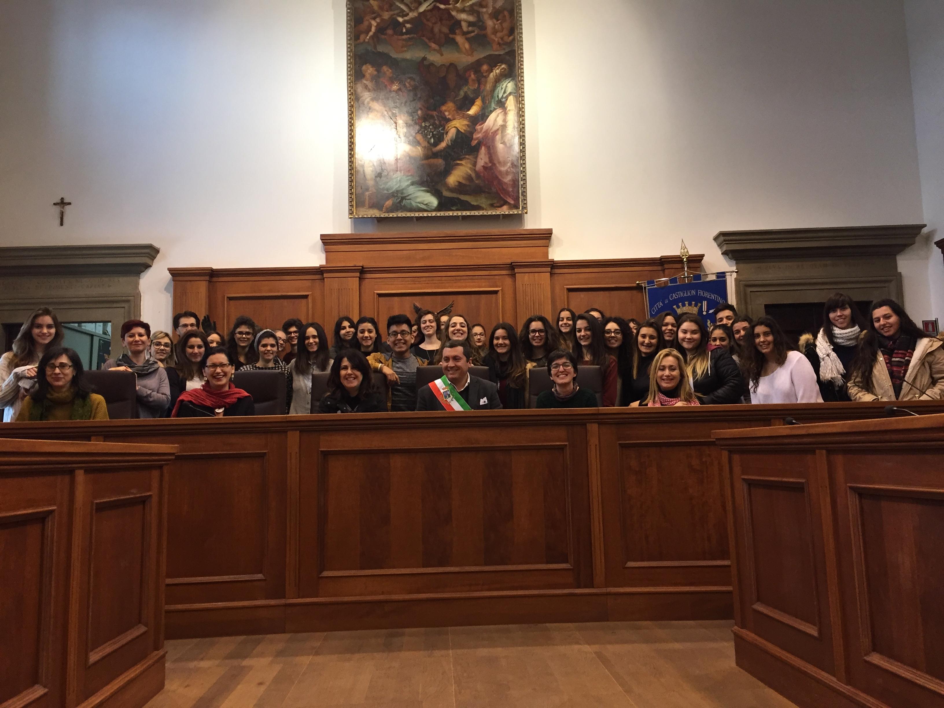 Gemellaggio fra gli studenti di Ibiza e il Liceo Linguistico di Castiglioni