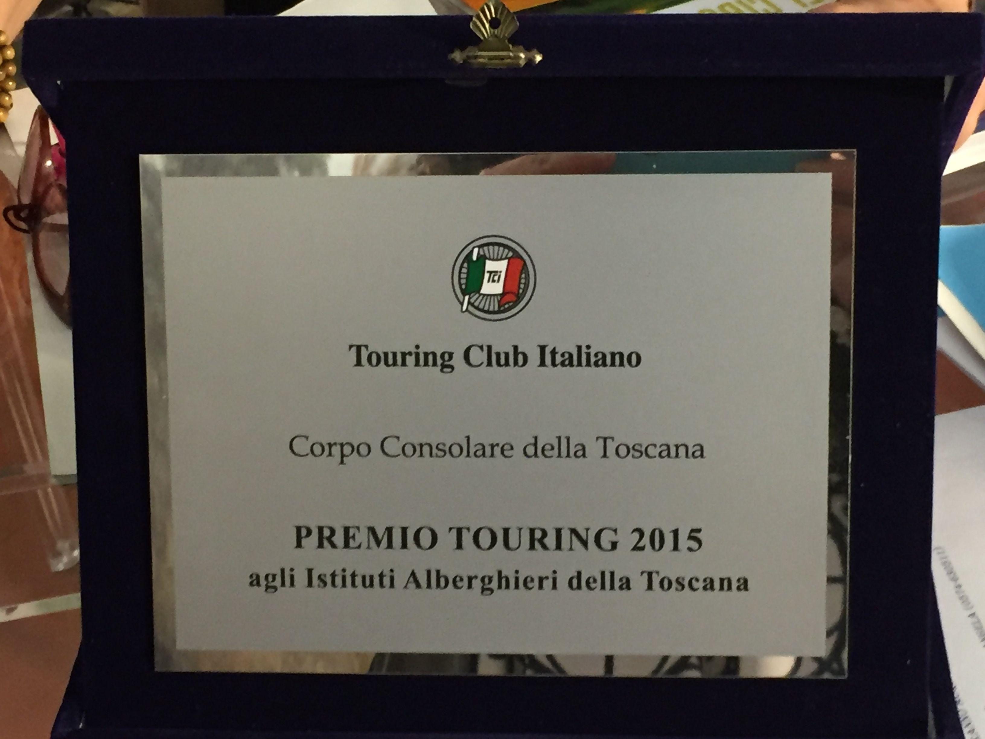 L'Istituto Vegni fra le 'eccellenze' del Touring Club