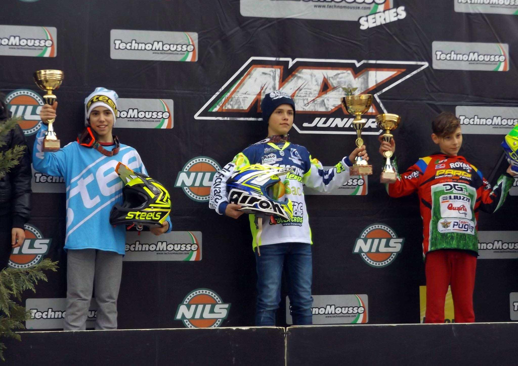 Secondo posto all'esordio nella Mx85 per Morgan Bennati e la Steels Motocross