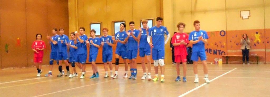 Titolo provinciale anche per l'Under 17 maschile del Cortona Volley