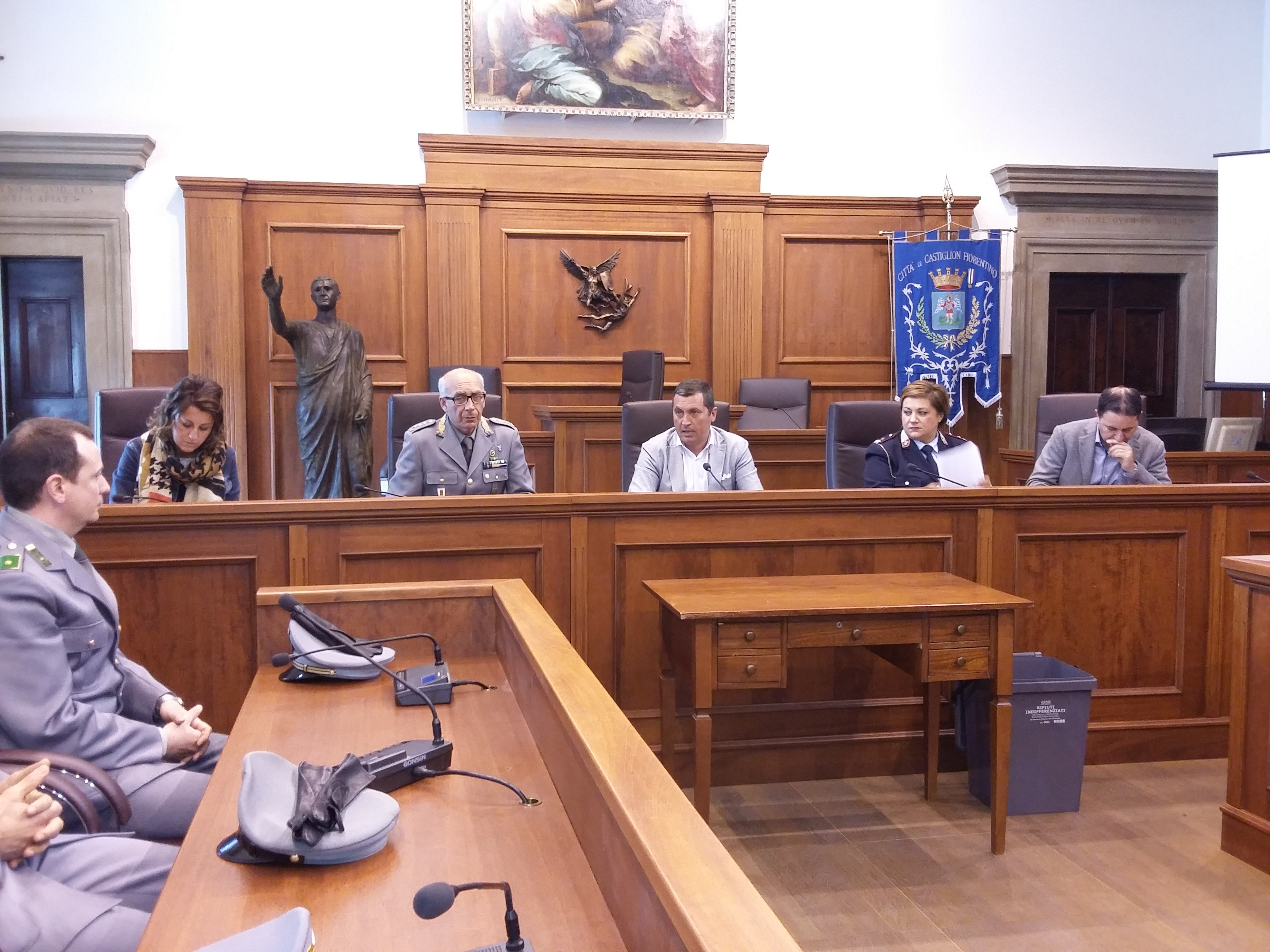 Sicurezza, l'impegno del Comune di Castiglion Fiorentino