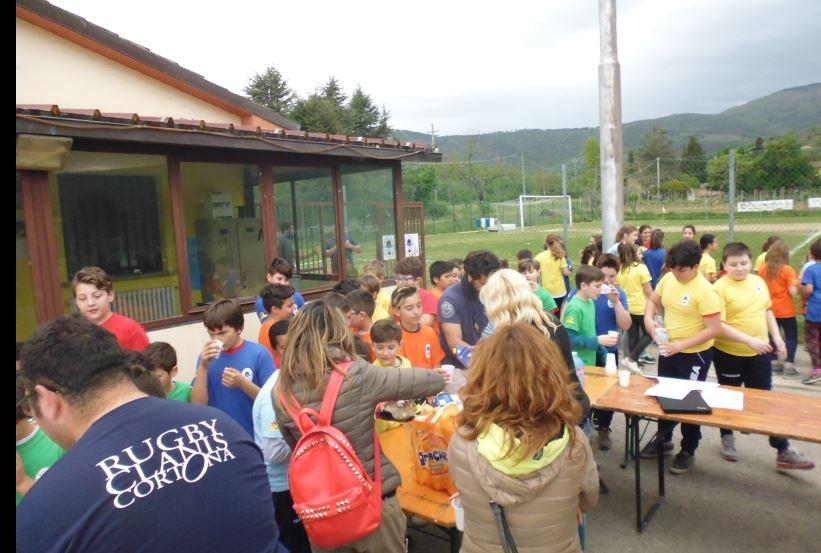 Gioco e divertimento con il Rugby a Tavarnelle