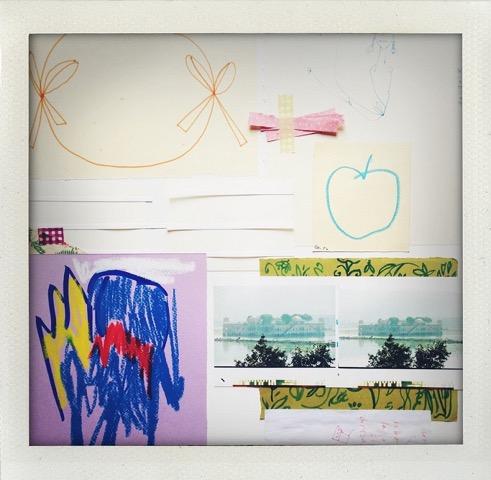 Ogi Archivio - Aux Bonheur des Dames 2016 collage su tela cm 40x50