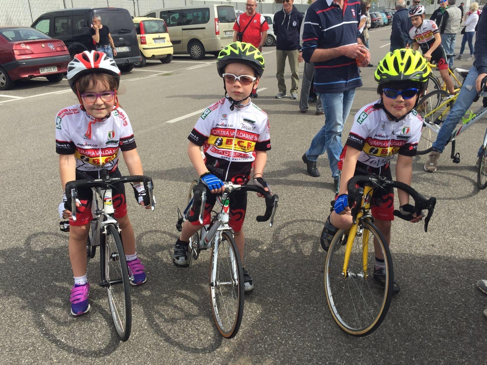 Al Trofeo Ciclodromo di Cavriglia piccoli ciclisti cortonesi in evidenza