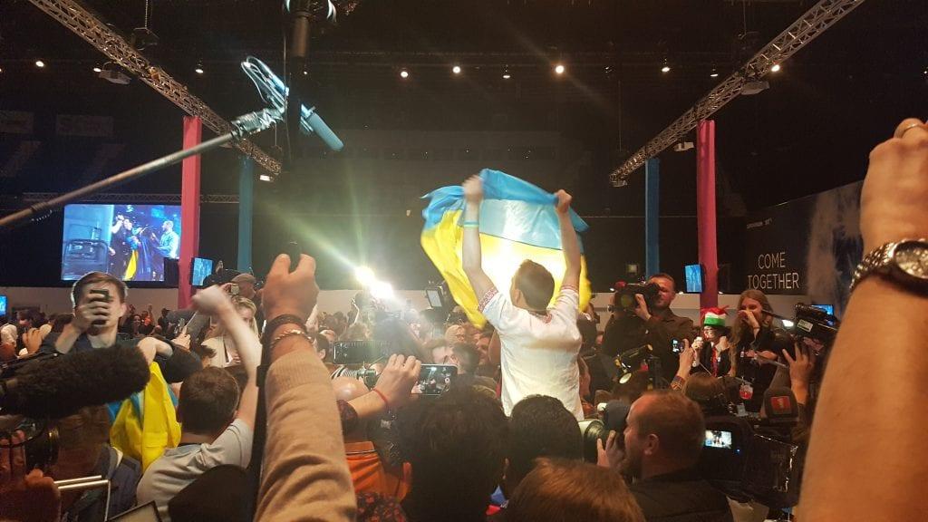 Eurovision: trionfa l'Ucraina, Italia sedicesima