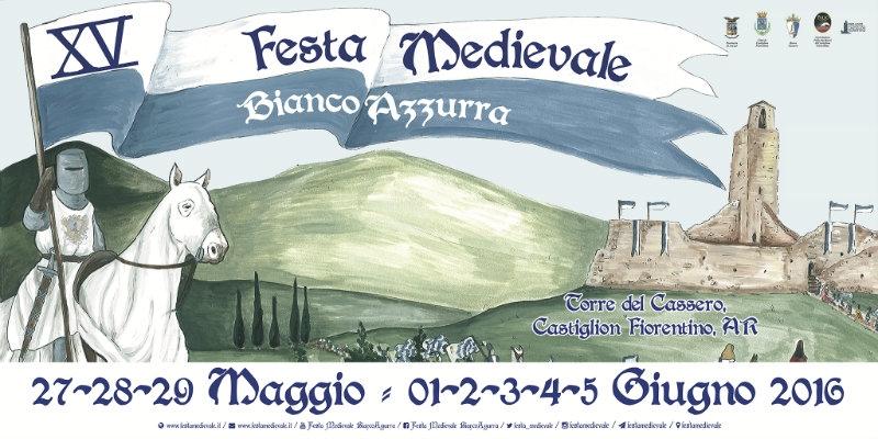 Festa medievale biancoazzurra, il programma completo