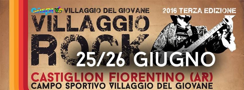 Dieci band sul palco del 'Villaggio Rock' a Castiglion Fiorentino