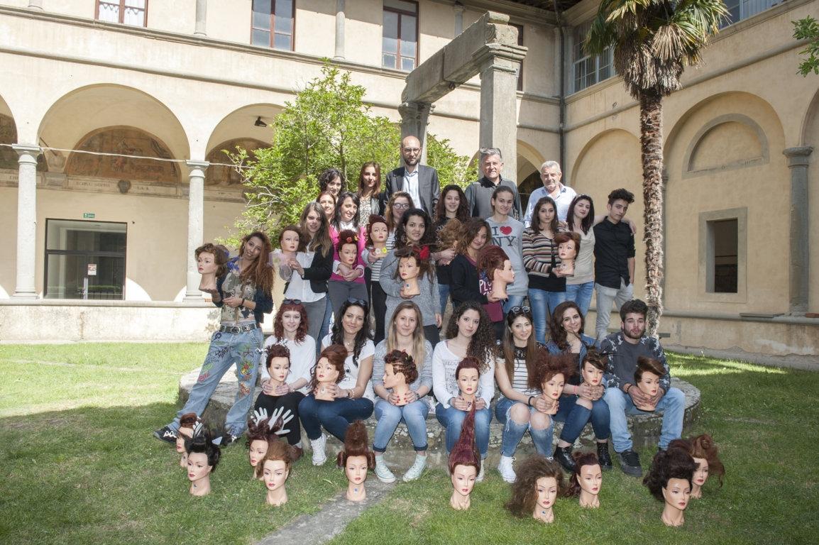 Torna la sfilata del corso di acconciatura a Cortona