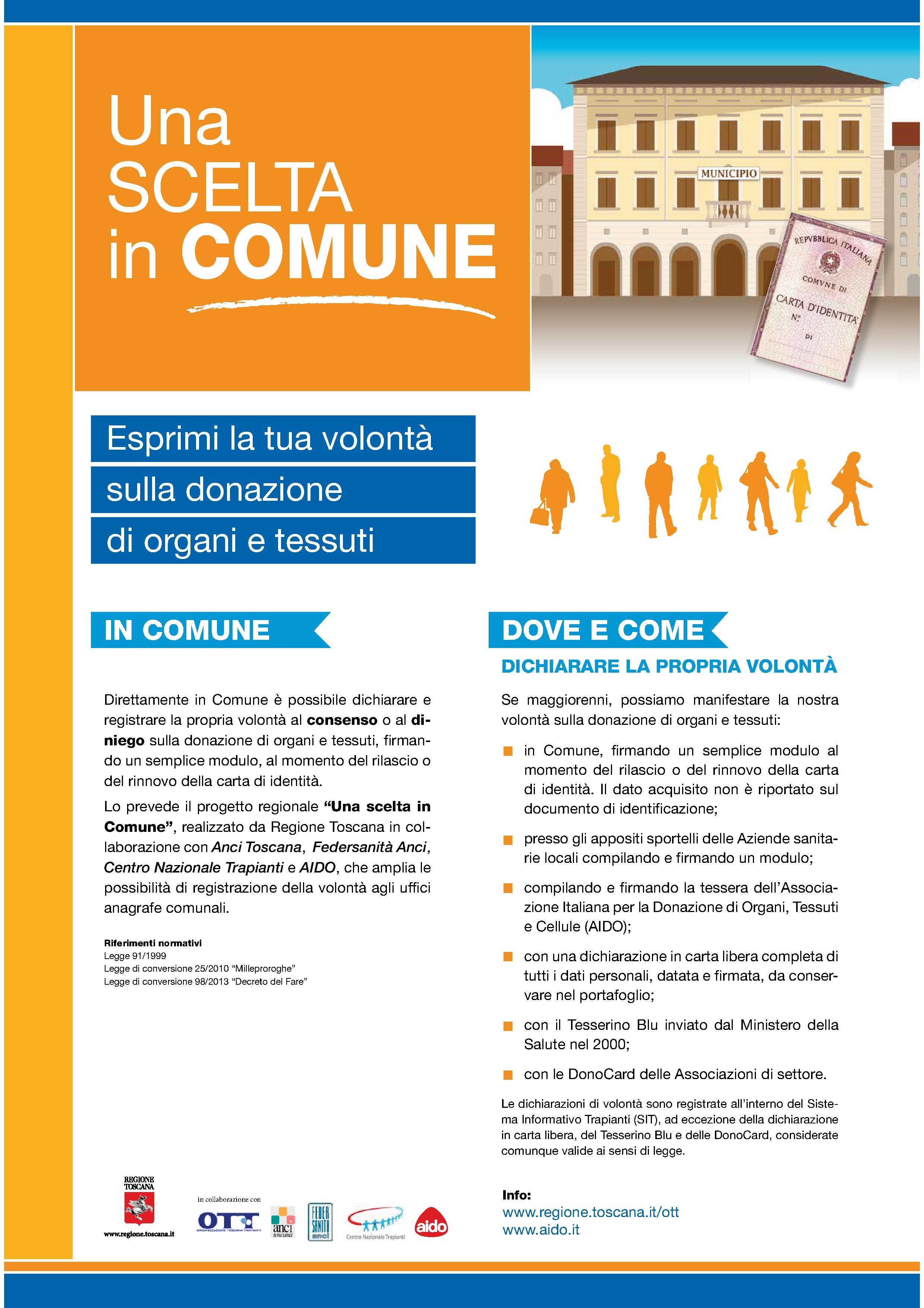 Donazione di organi, un