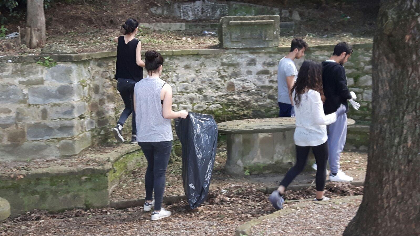 Progetto 'Puliamo i parchi' a Cortona
