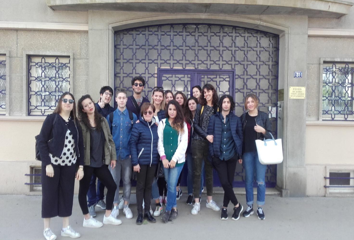 Scuola-lavoro, l'esperienza degli studenti dell'ITE di Cortona a Digione
