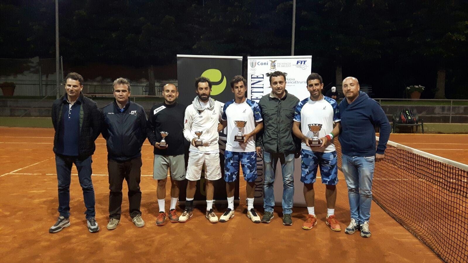 Claudio Grassi mattatore all'Open 2016 del TC castiglionese