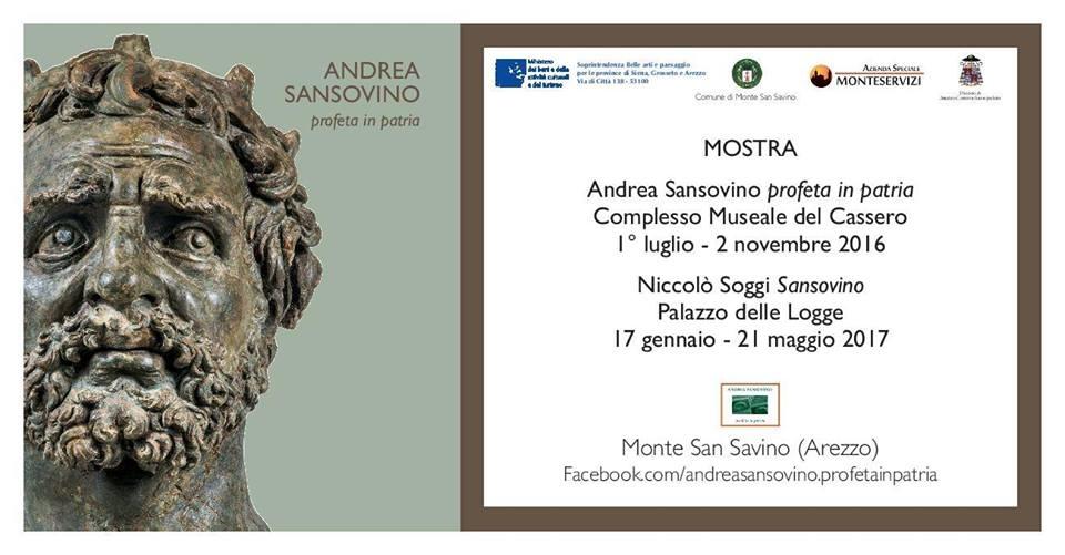 Andrea Sansovino, profeta in patria: venerdì via alla grande mostra a Monte San Savino