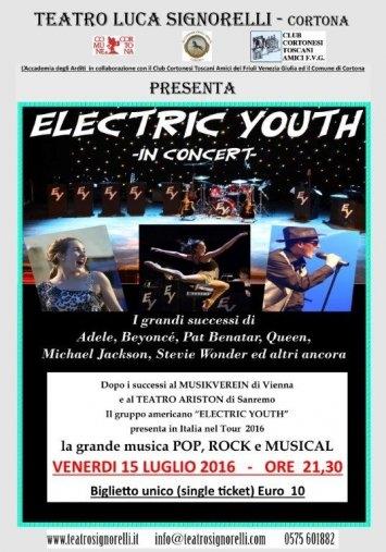 Sul palco del Signorelli gli 'Electric Youth'