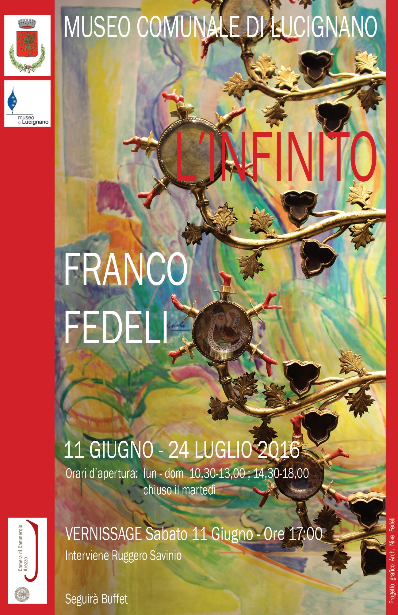 L'Infinito di Franco Fedeli in mostra a Lucignano