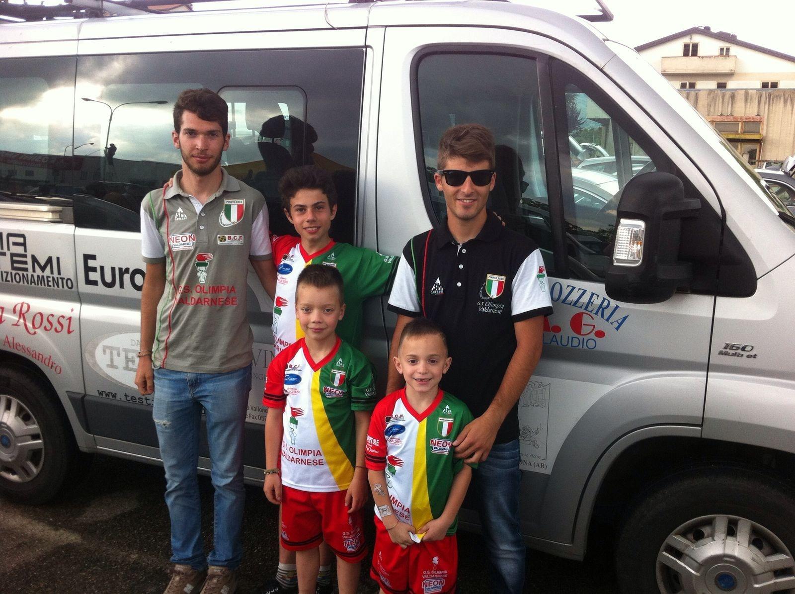 Ciclismo giovanissimi, a Rigutino vince ancora Tommaso Roggi