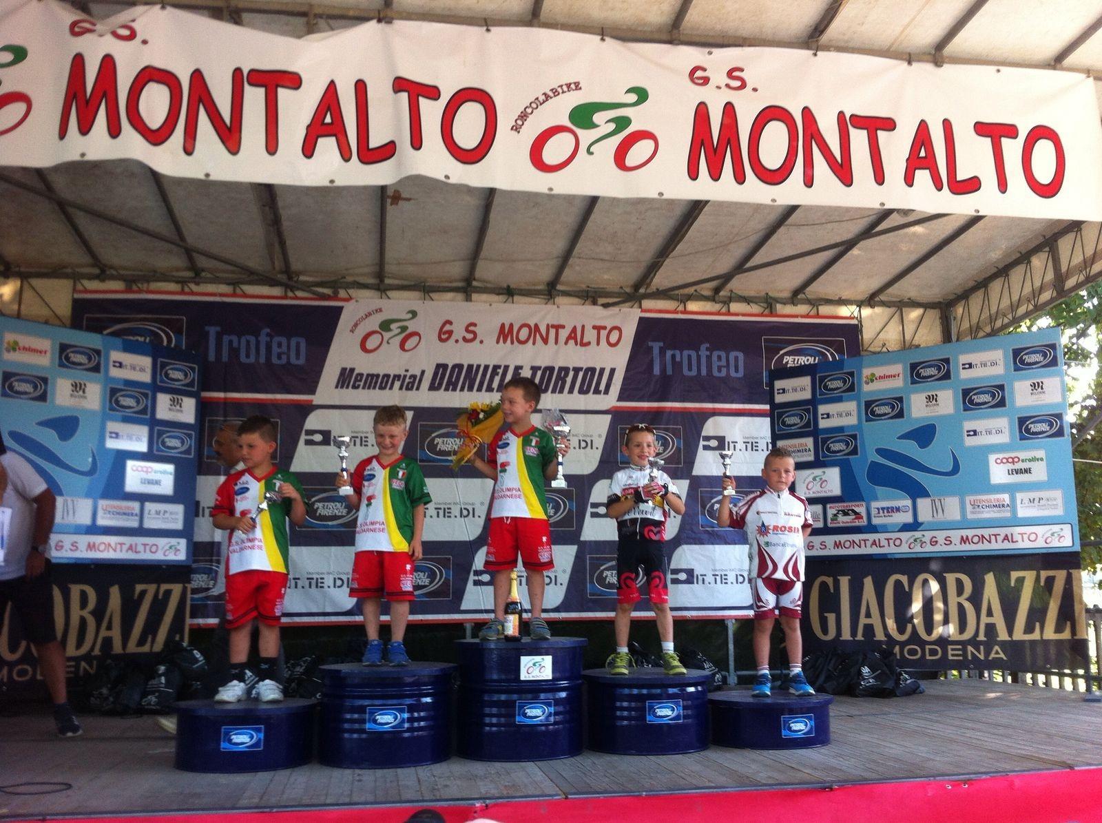 Ciclismo giovanissimi, a Montalto vince ancora Tommaso Roggi