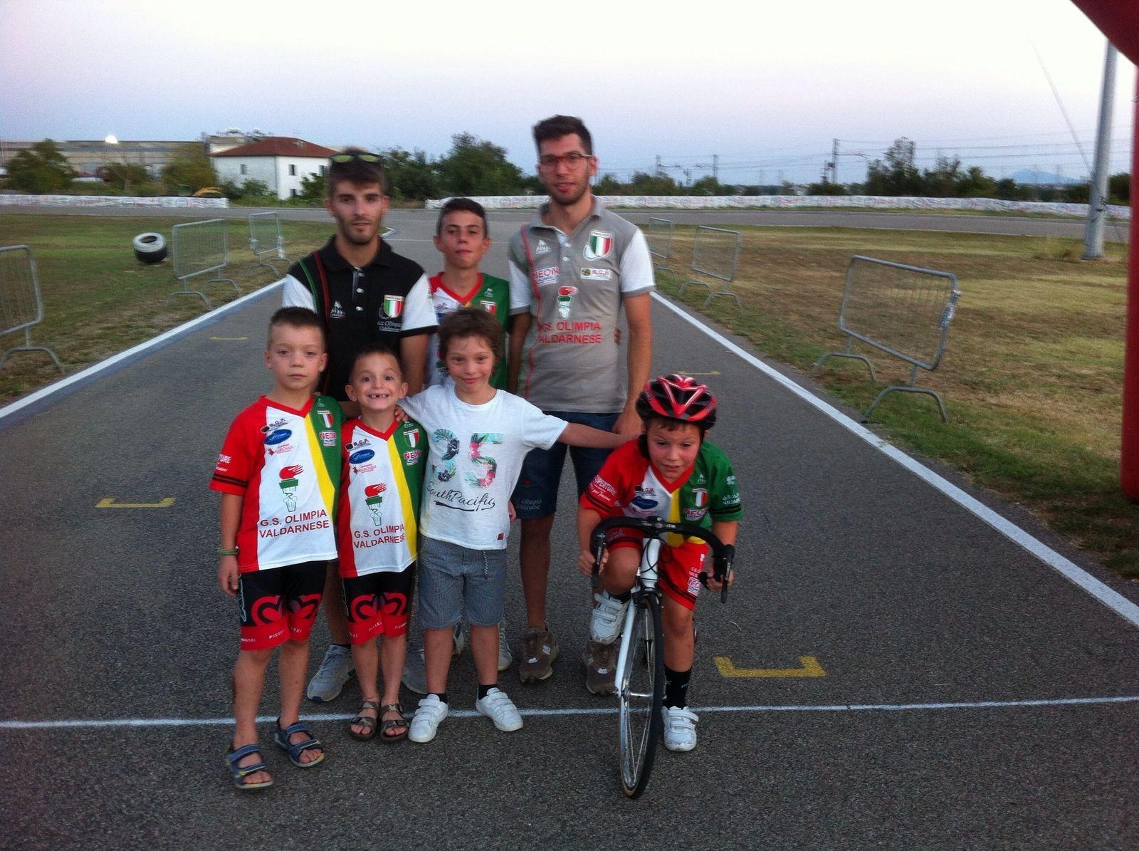 A Castiglion Fiorentino vince ancora Tommaso Roggi, ottimi piazzamenti per gli altri giovanissimi cortonesi