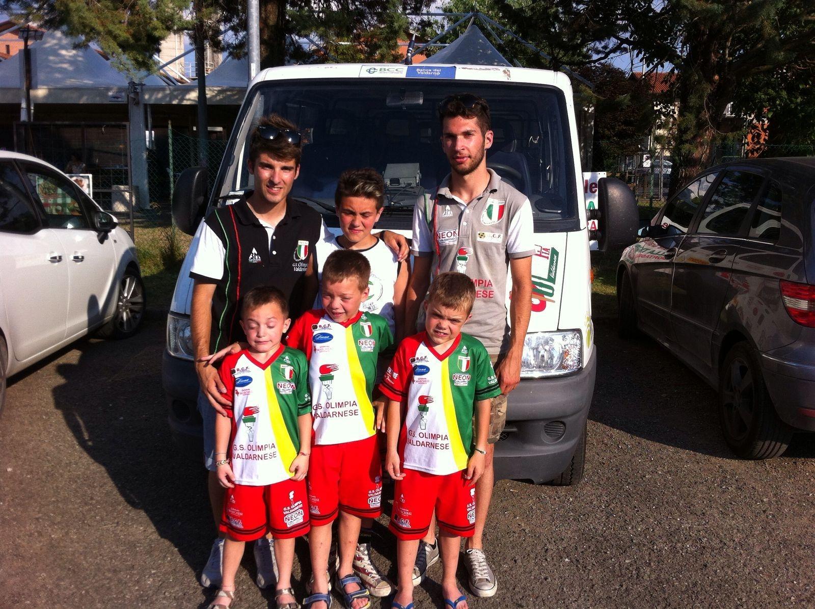 Ciclismo giovanissimi, ancora un podio per Tommaso Roggi