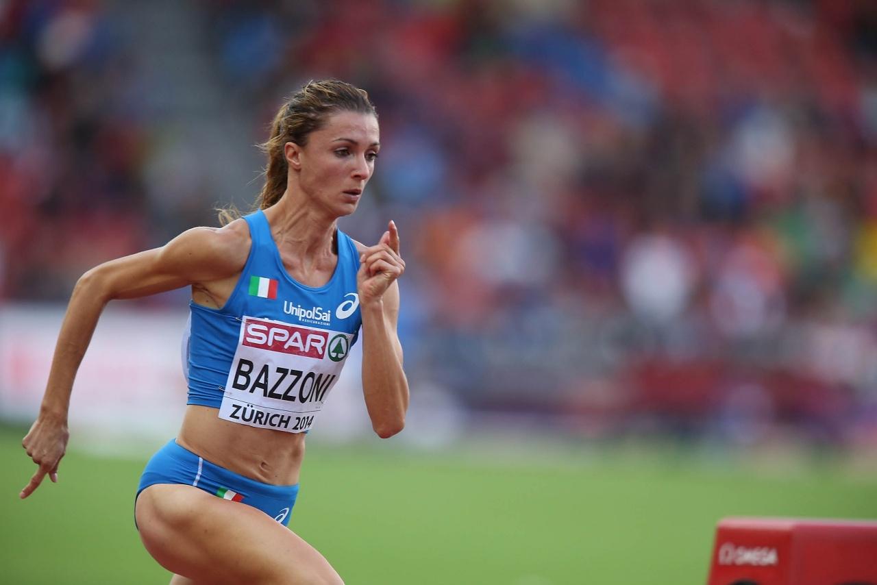 Chiara Bazzoni in finale con la 4x400 italiana agli europei