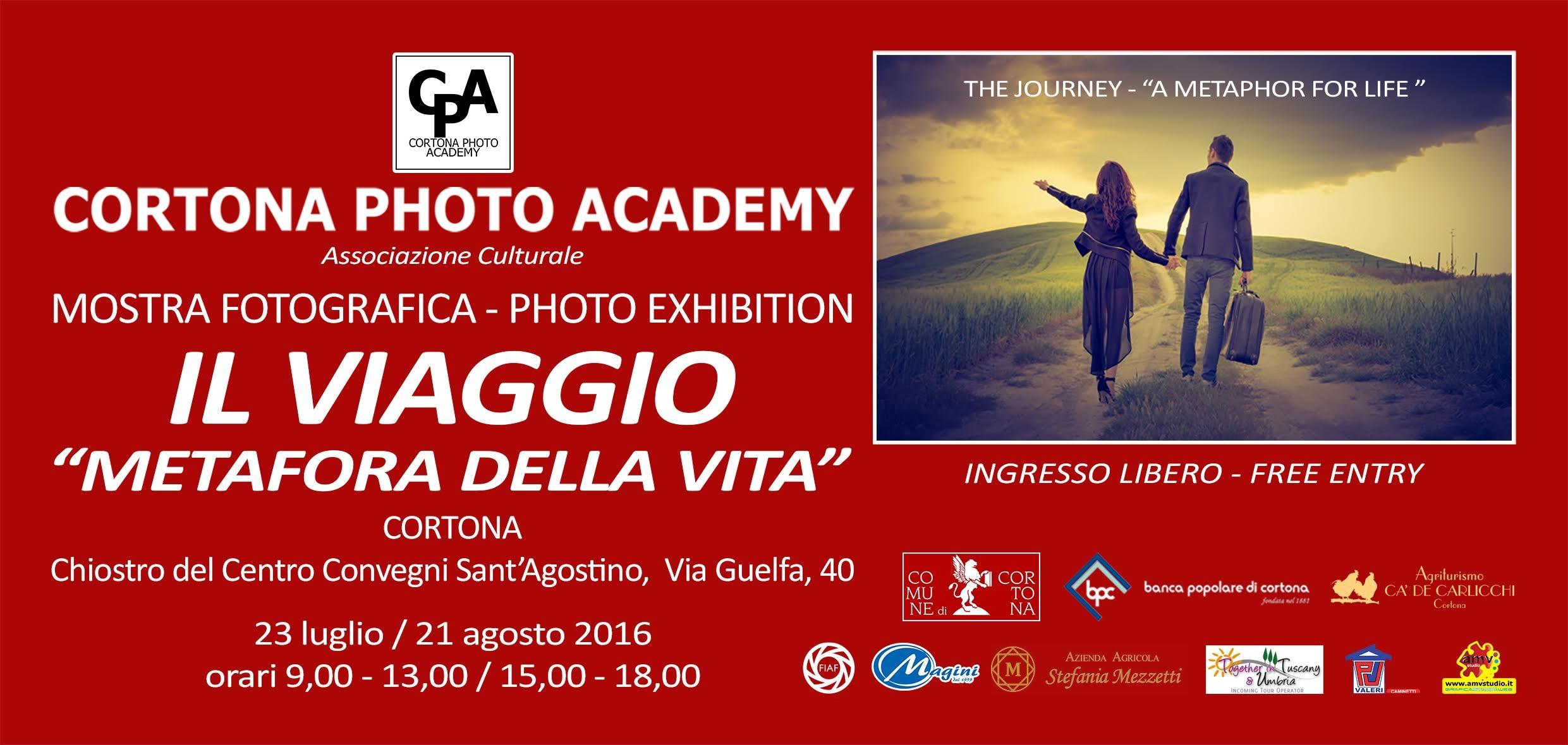 'Il viaggio, metafora della vita', mostra di Cortona Photo Academy a Sant'Agostino