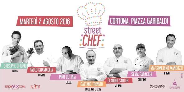 Al Mix Festival di Cortona Street Food e Grandi Chef scendono in  piazza per una serata di alta cucina italiana