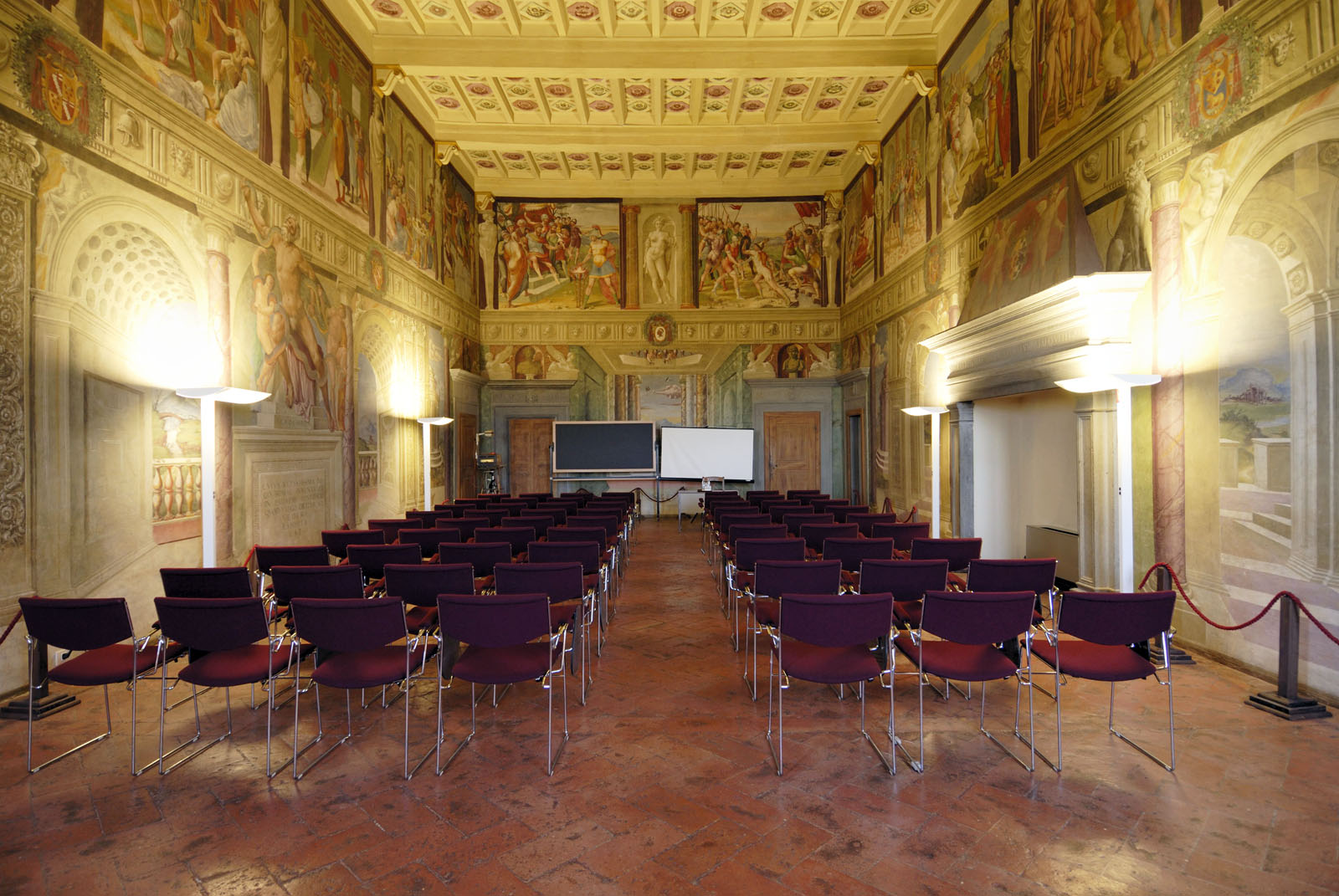 arredo sala conferenze cortona palazzone