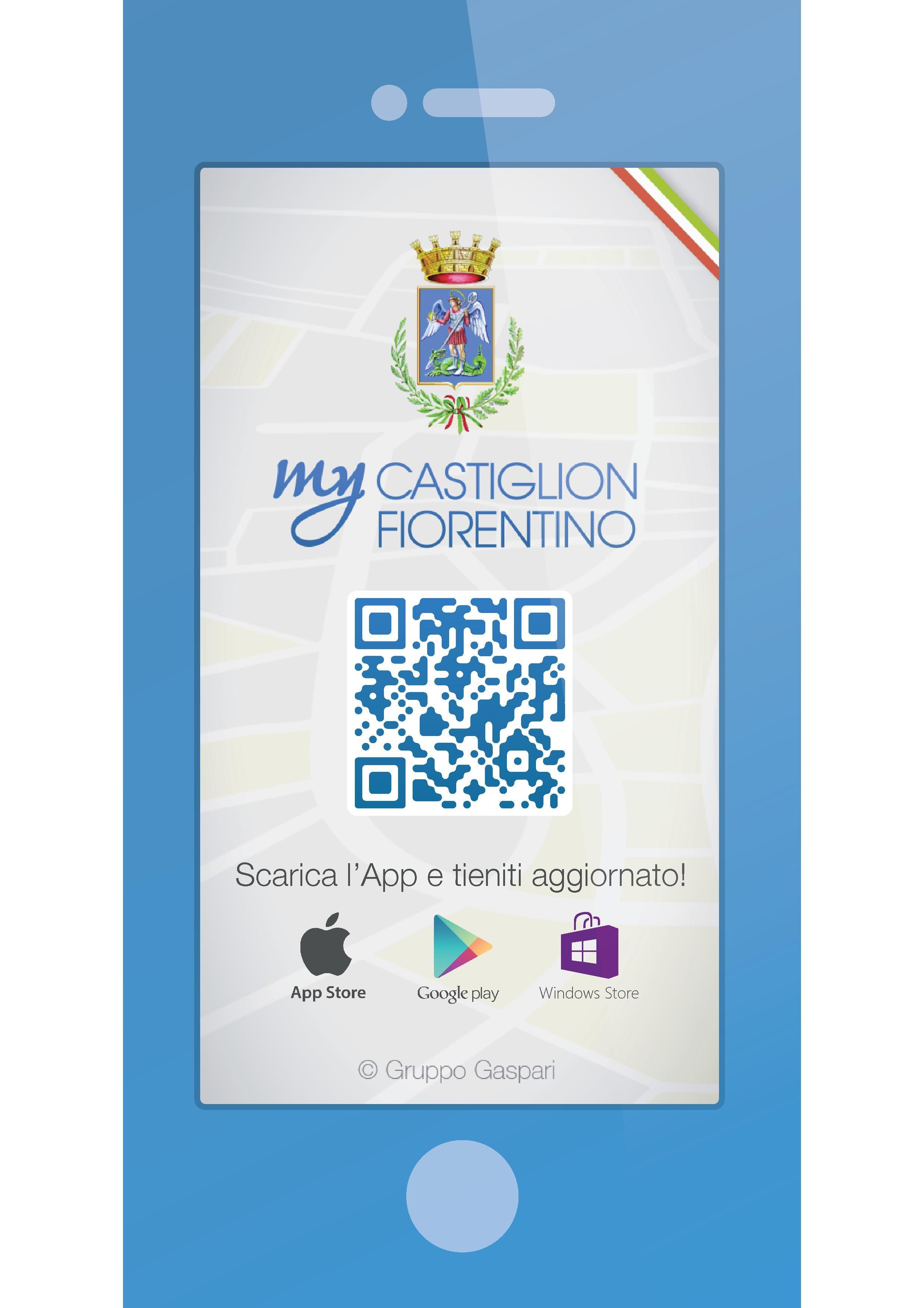 Castiglion Fiorentino comune 'smart' con l'App istituzionale