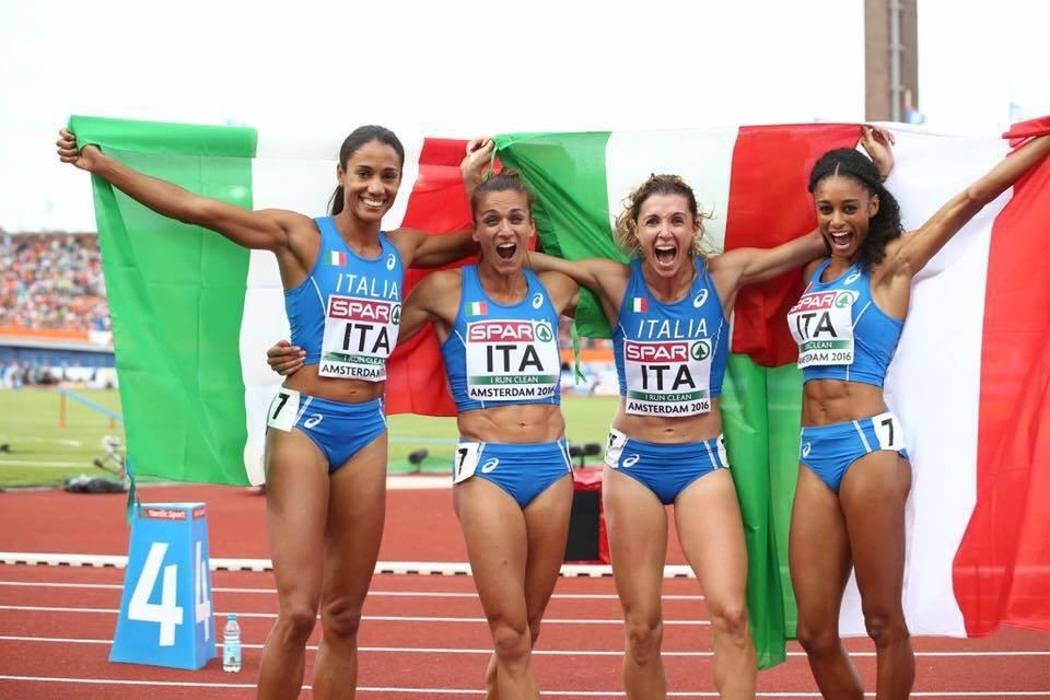 Chiara Bazzoni, straordinario bronzo con la 4x400 agli Europei