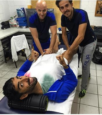 Farnetani, il fisioterapista dei grandi del nuoto, un altro pezzo di Valdichiana a Rio