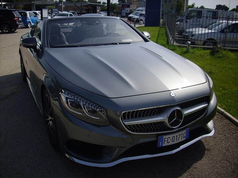Test Drive: Mercedes Classe S Cabrio