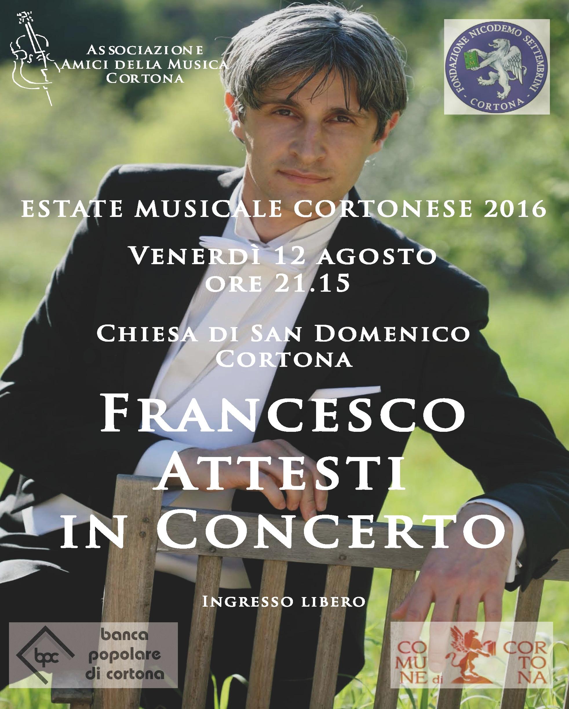 Attesti in concerto a Cortona nell'ambito dell'Estate Musicale