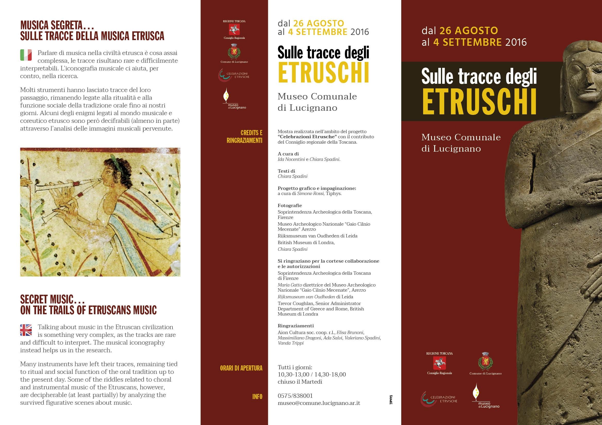 'Sulle tracce degli Etruschi', via alla mostra fotografica a Lucignano
