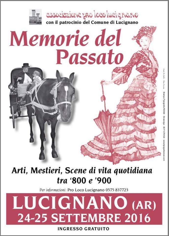A Lucignano torna 'Memorie del Passato'