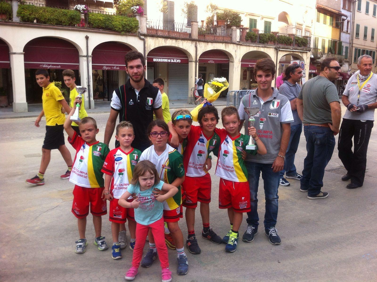 Ciclismo giovanissimi: a Figline Valdarno nuova vittoria di Tommaso Roggi