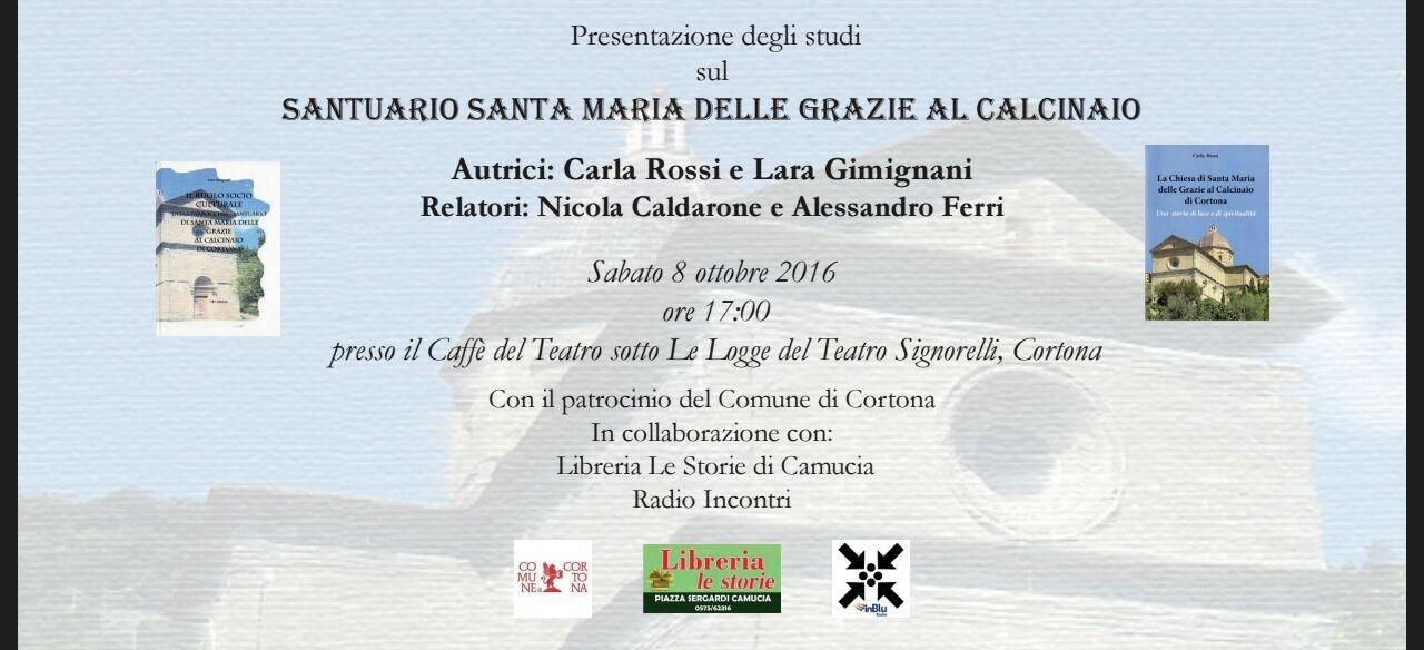 Due libri sul 'Calcinaio', presentazione al Teatro Signorelli