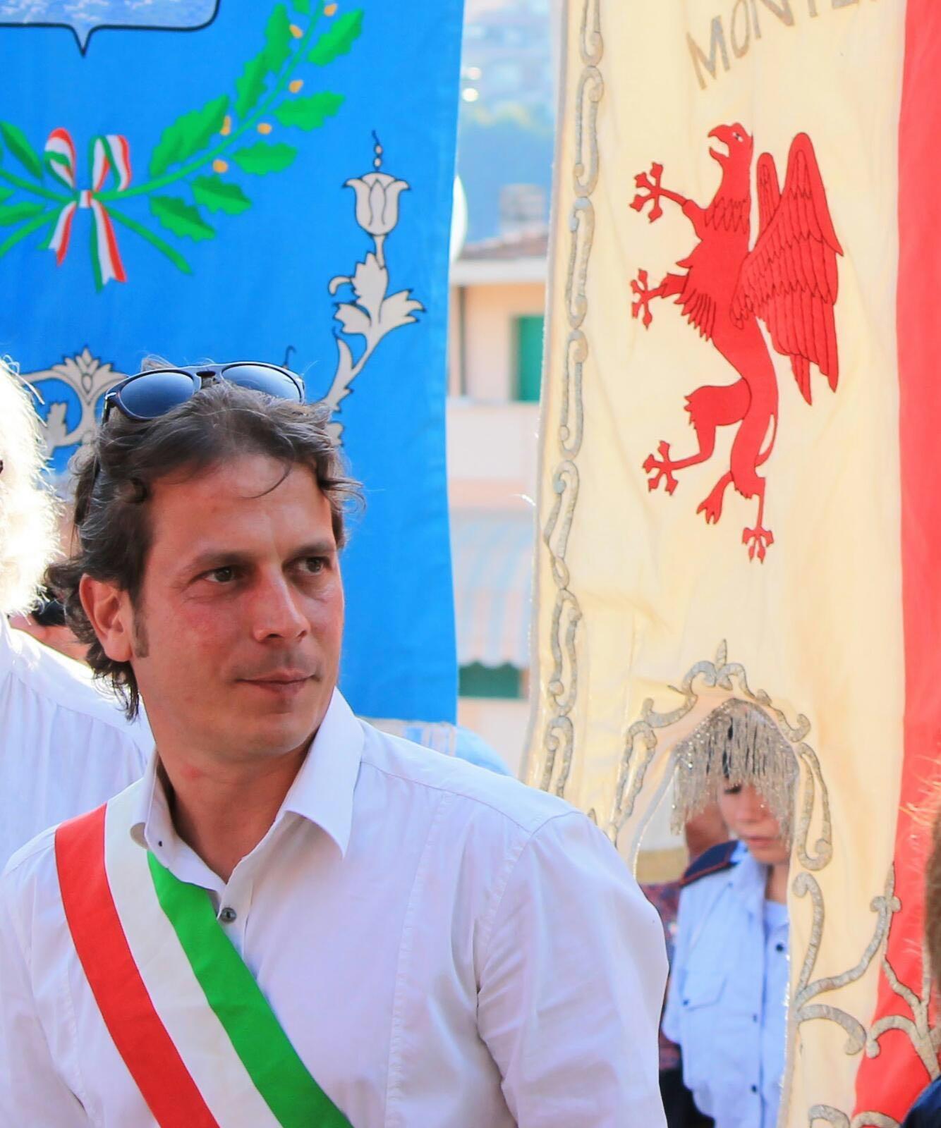 Il Gonfalone di Montepulciano alla manifestazione antifascista di ANPI