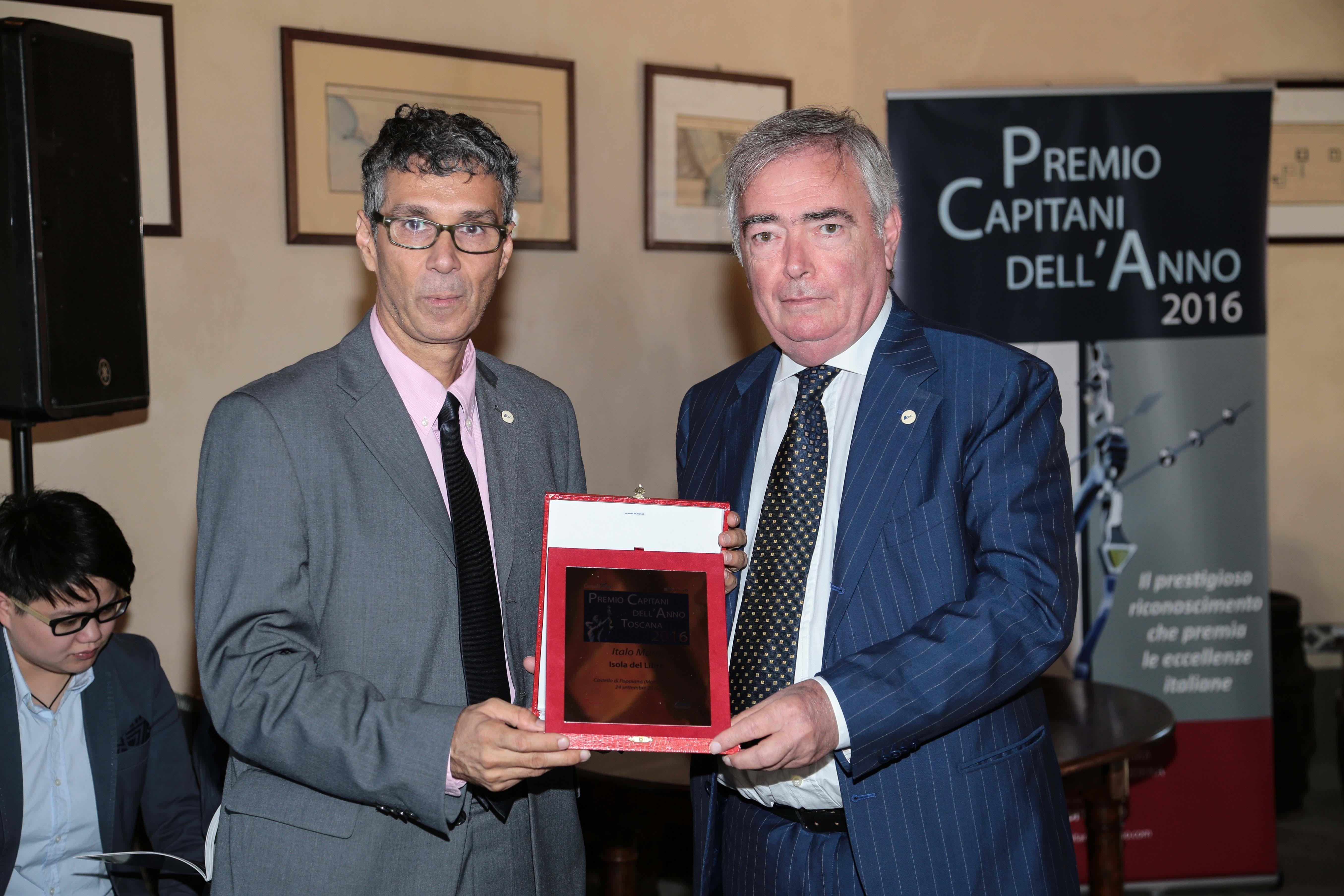 Il cortonese Italo Marri insignito del premio