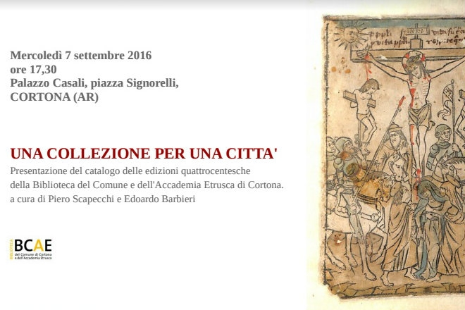 Una collezione per una città, oggi a Palazzo Casali la presentazione del catalogo