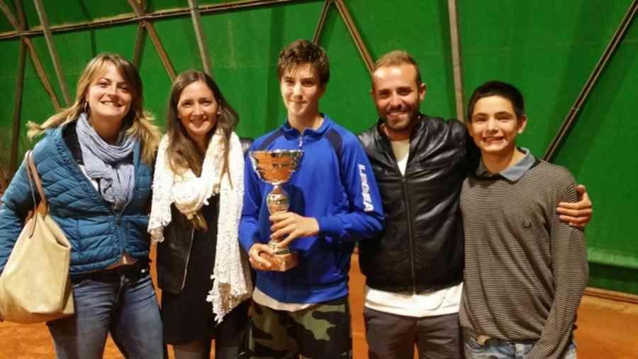 Tennis: Francesco Zucchini vince il Master Under 16 delle Valli aretine