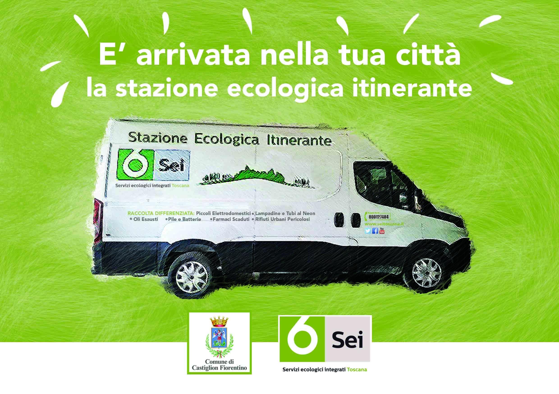 La 'Stazione Ecologica Itinerante' arriva anche a Castiglion Fiorentino