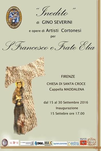 Un inedito di Severini alla Mostra in Santa Croce promossa dal Circolo cortonese