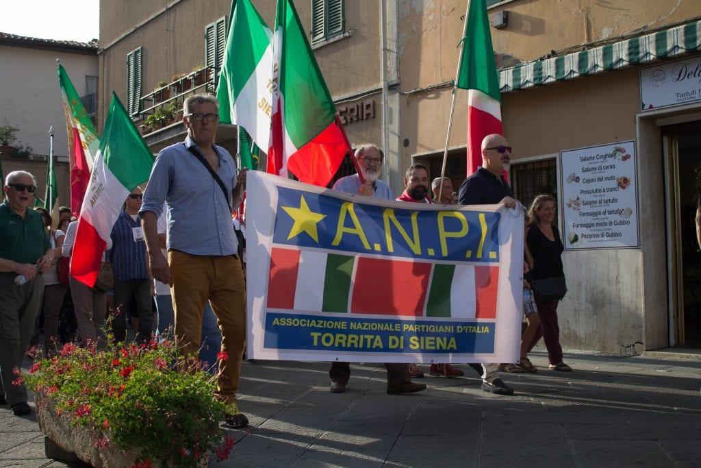 'La Valdichiana è antifascista': a Chianciano la manifestazione di ANPI