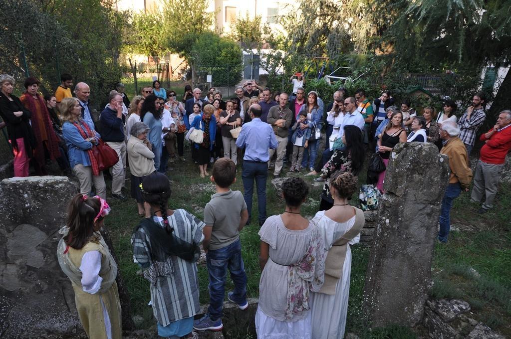 Camucia è anche archeologia, successo per la 'Festa del Dio Nethus'