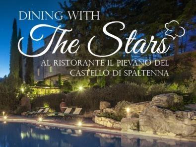 AL PIEVANO DEL CASTELLO DI SPALTENNA CLOSER DINNER DELLA RASSEGNA DINING WITH THE STARS