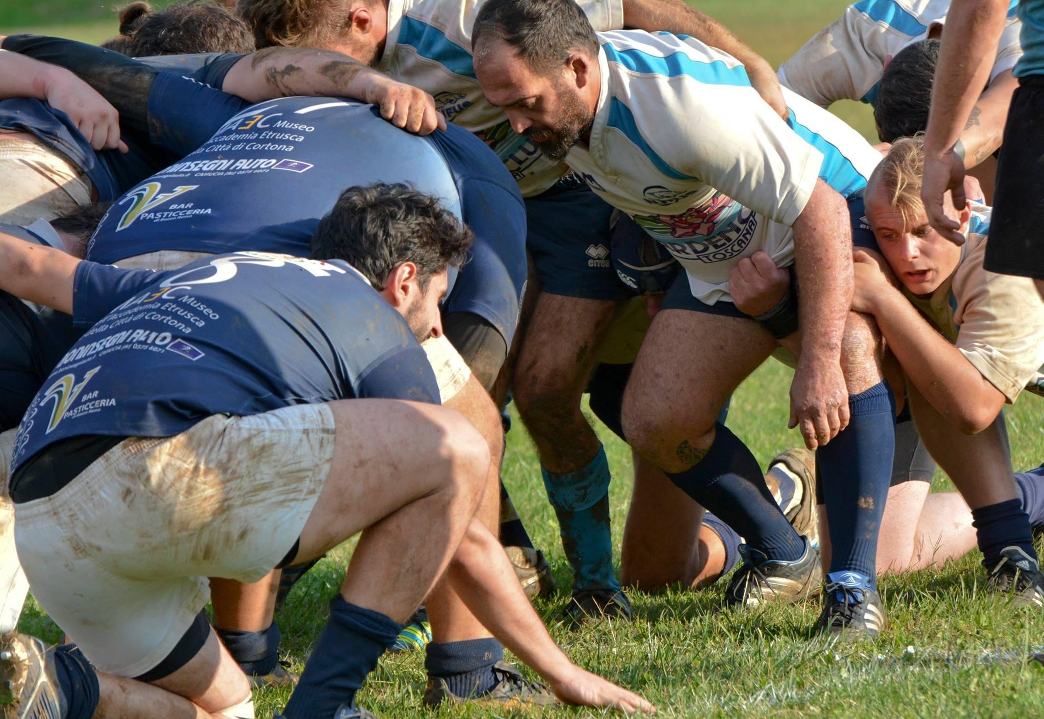 Iniziata la stagione del Clanis Rugby, sconfitto a San Vincenzo