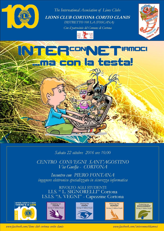 Uso di internet responsabile, a Cortona incontro promosso dal Lions Club