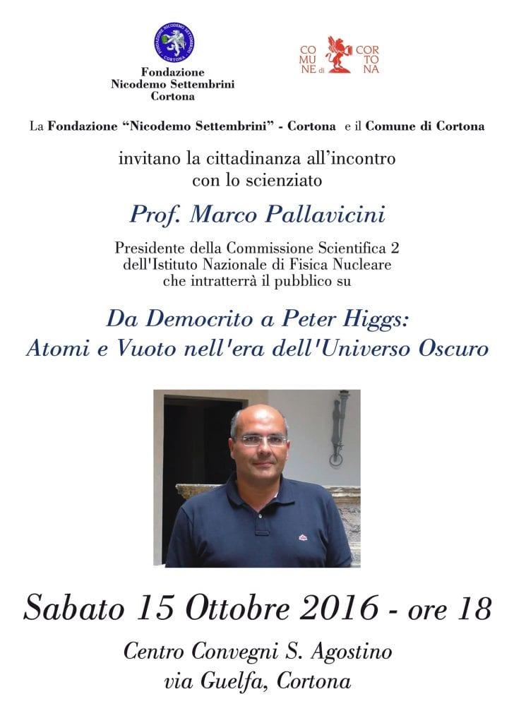 A Cortona lo scienziato Marco Pallavicini, incontro a Sant'Agostino