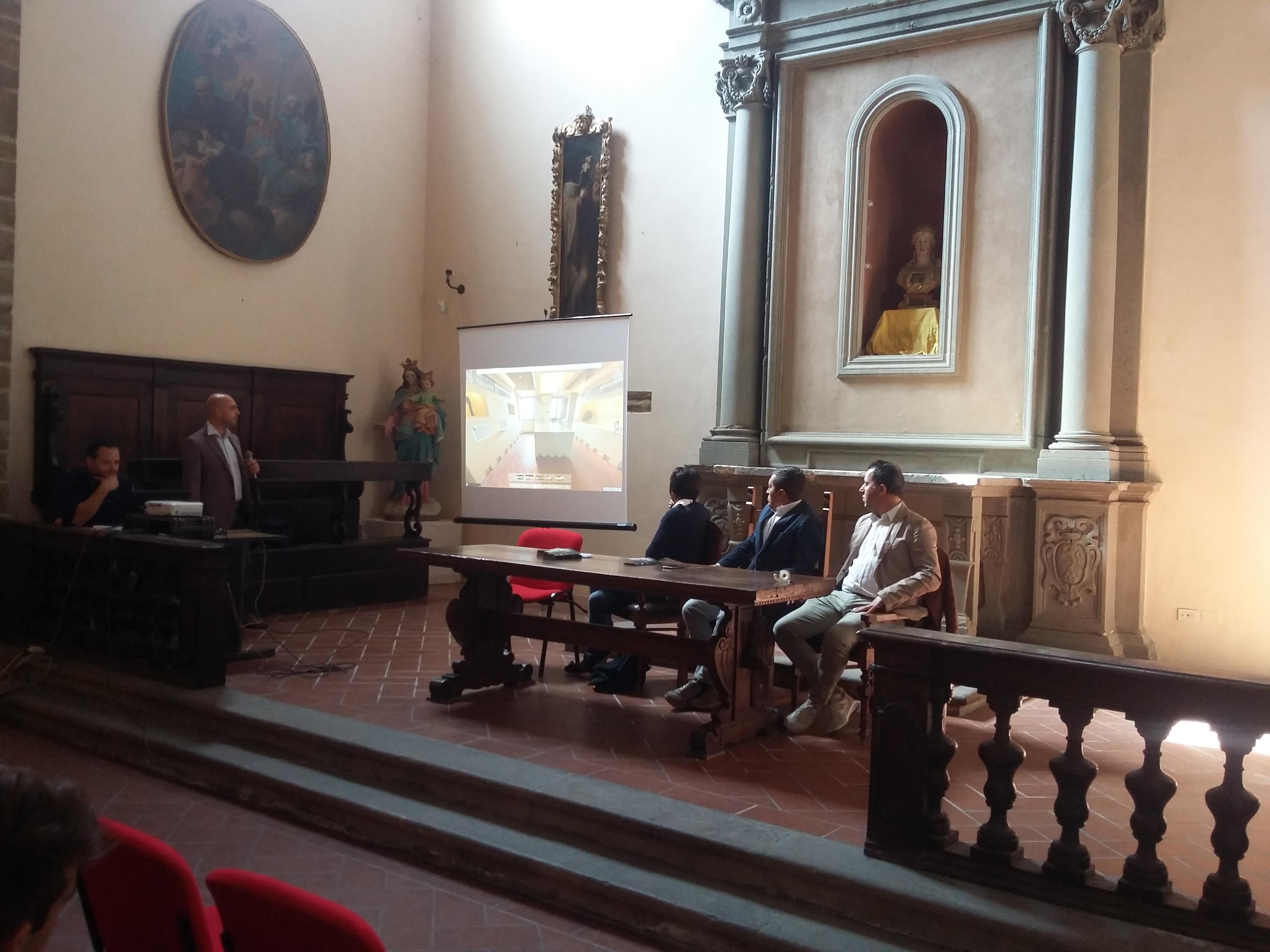 Il sistema museale castiglionese ha presentato il Tour Virtuale e la brochure informativa